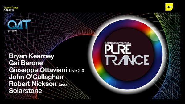 Quest4Trance and Solarstone presents Pure Trance ADE 2017 at Postillion Convention centre, KBF complex, Amsterdam, The Netherlands on 21st of October 2017