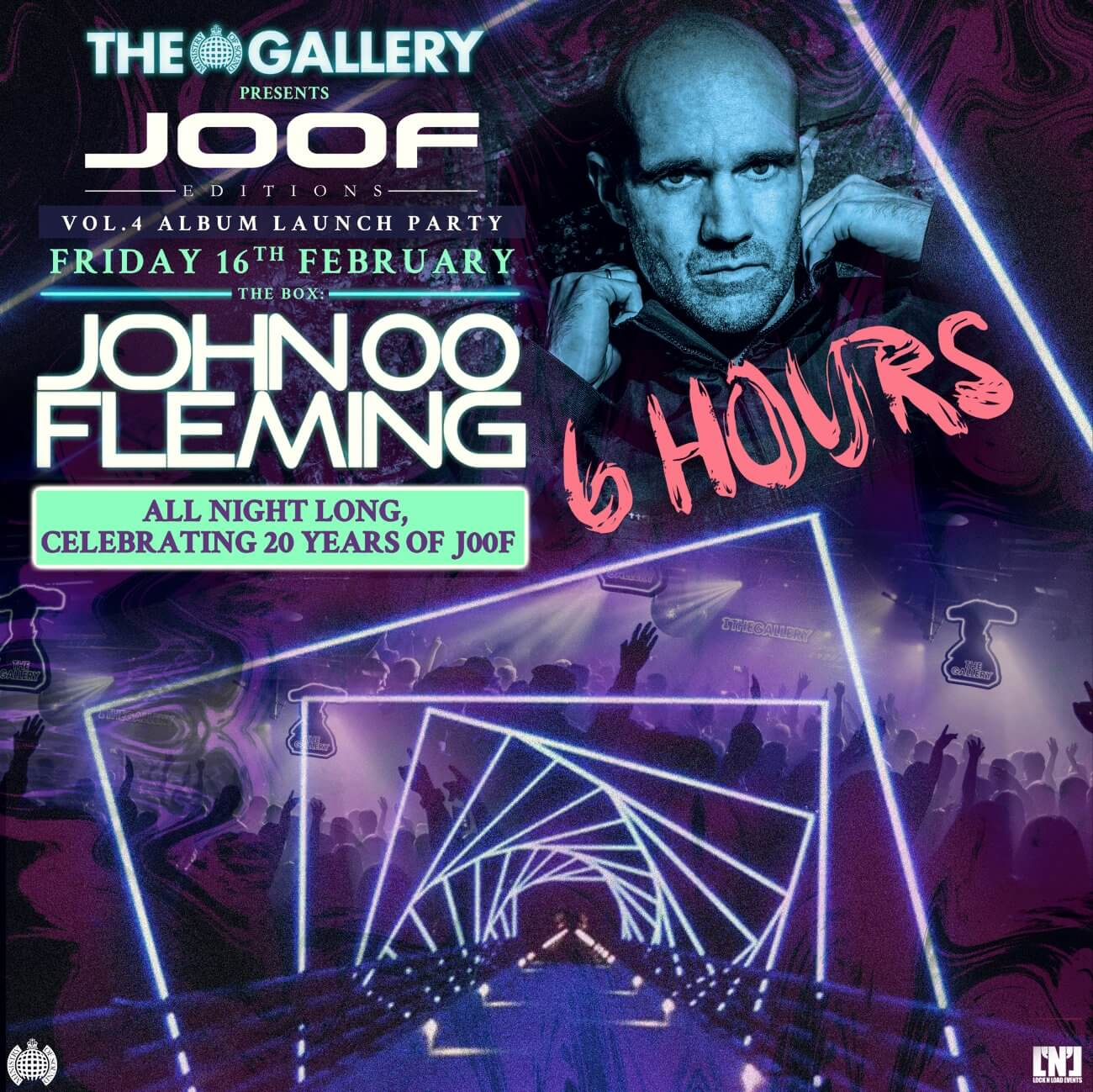 The Gallery presents John 00 Fleming at Ministry Of Sound, London on 16th of February 2018 poster 2