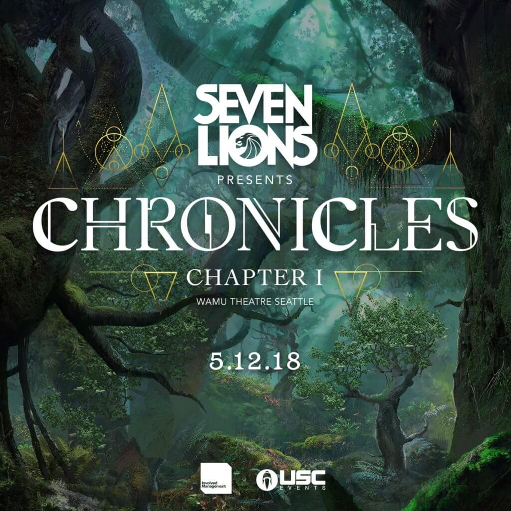 Seven Lions presents Chronicles at WaMu Theater, Seattle, US on 12th of May 2018