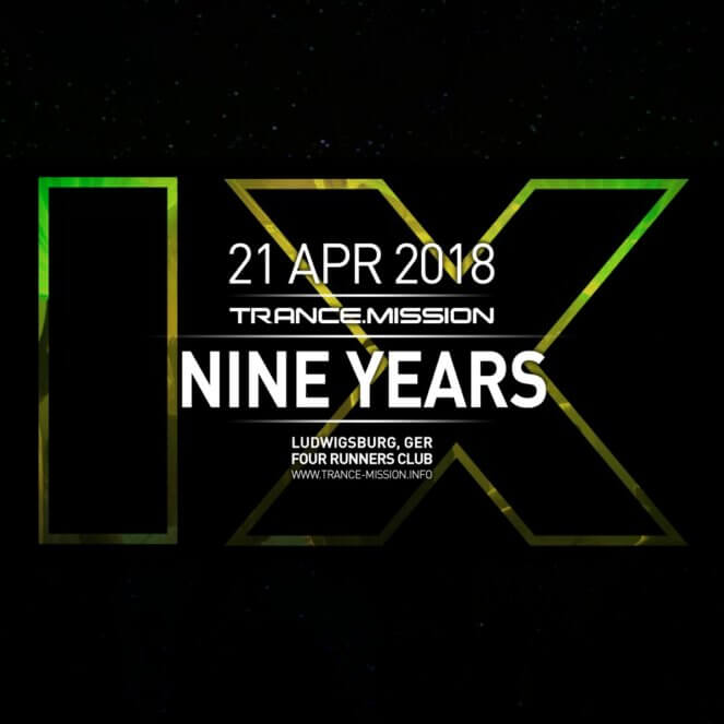 Trance.Mission presents Ashley Wallbridge and Daniel Skyver at Four Runners Club, Ludwigsburg, Tammerfeld, Germany on 21st of April 2018