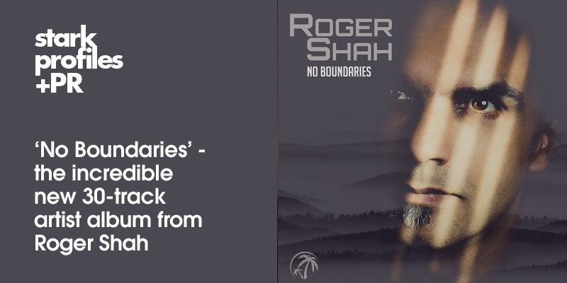 Roger Shah presents No Boundaries on Black Hole Recordings banner