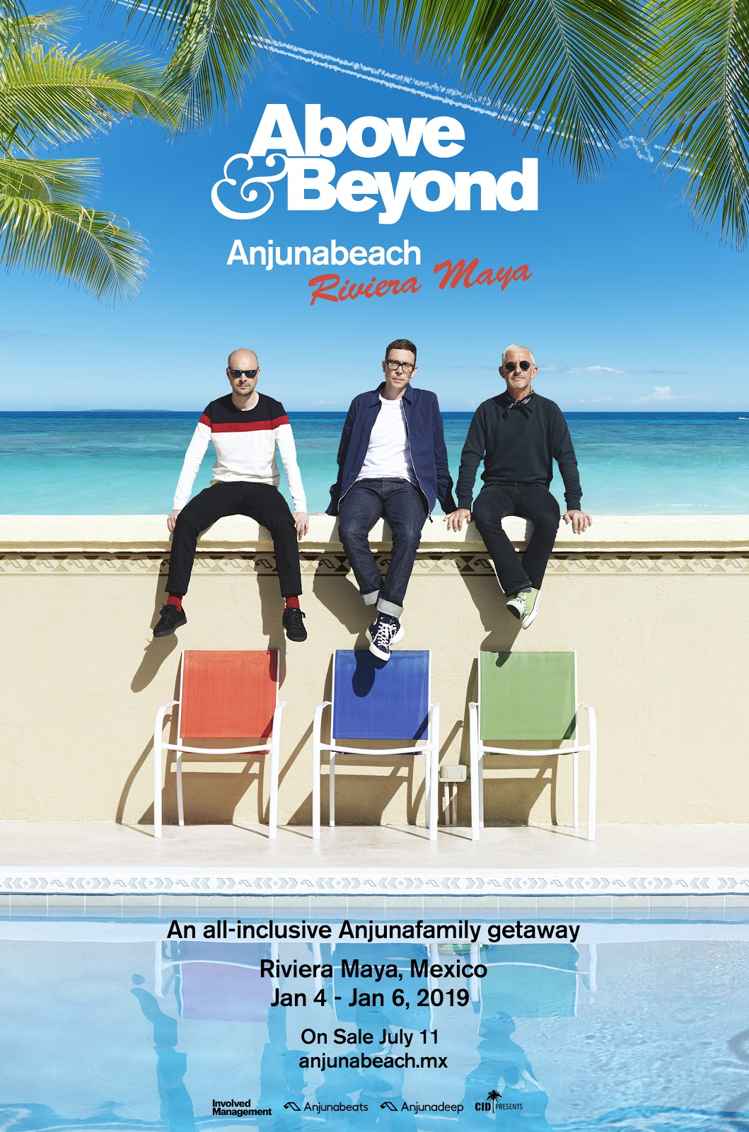 Above & Beyond presents Anjunabeach Mexico @ Riviera Maya on 4th-6th of January 2019