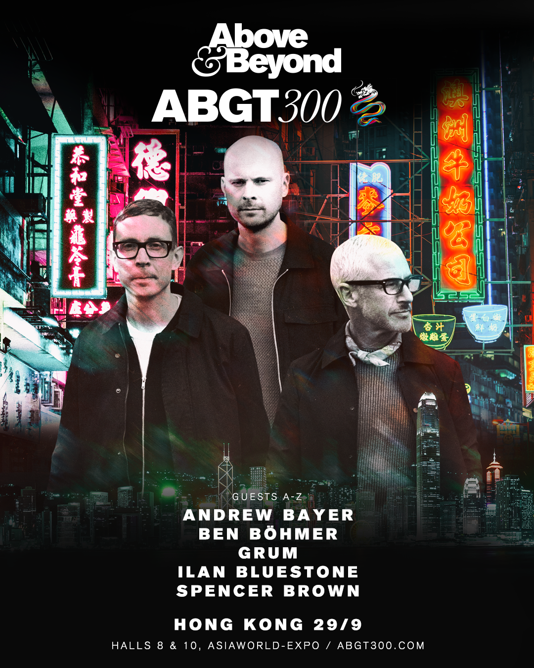 Above & Beyond presents Group Therapy 300 in Hong Kong, Asia on 29th of September 2018