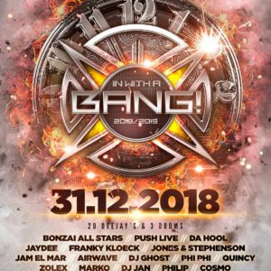 Bonzai Records and Age Of Love presents New Year's Eve With A Bang at Gaston Rooftop Bar, Gent, Belgium on 31st of December 2018