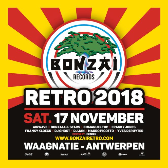Bonzai Retro 2018 at Waagnatie, Antwerpen, Belgium on 17th of November 2018