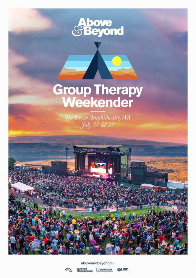Above and Beyond presents Group Therapy Weekender at The Gorge Amphitheatre, Washington, US on 27th and 28th July 2019
