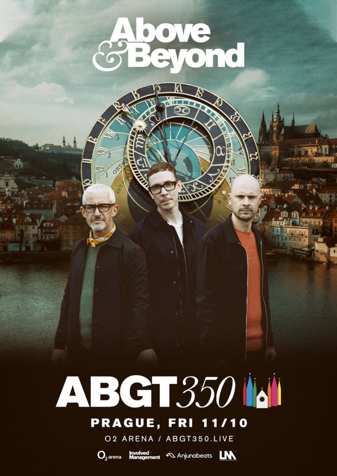 Above and Beyond presents Group Theraphy 350 at O2 Arena, Prague, Czech Republic on 11th of October 2019